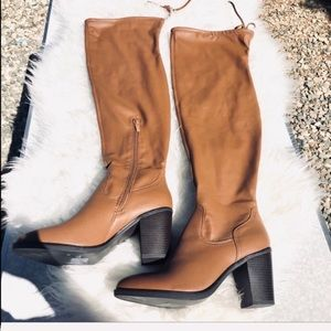 Forever 21 brown over the knee Boots 10 nwt